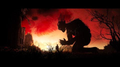 Dans le film, un arbre géant parle avec un ado de 12 ans pour l'aider à surmonter ses peurs (©Metropolitan FilmExport).