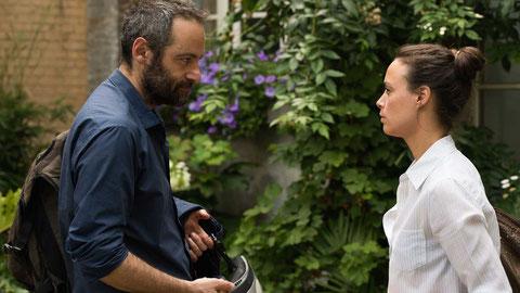 Après 15 ans de vie commune, Boris (Cédric Kahn) et Marie (Bérénice Bejo) se séparent (©Fabrizio Maltese/Le Pacte).