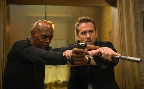 Samuel L. Jackson et Ryan Reynolds, deux ennemis obligés de faire ami-ami (©Metropolitan FilmExport).