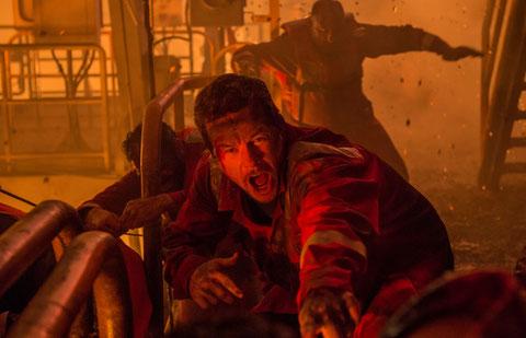 Pour Mark Wahlberg, c'est urgent: il y a le feu (©StudioCanal/SND Distribution).