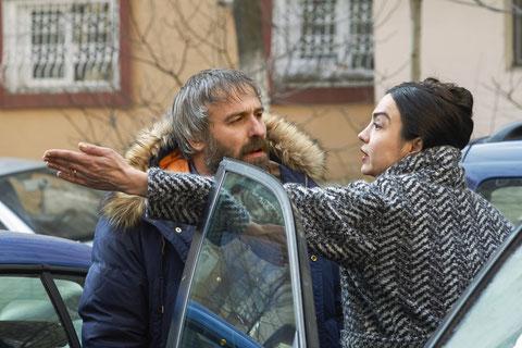 Lary (Mimi Branescu) et sa femme Laura (Catalina Moga) se disputent, encore et encore (©Wild Bunch).