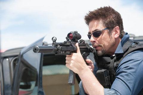 Benicio Del Toro, un membre de l'équipe américaine anti-trafiquants aux motivations mystérieuses (©Metropolitan FilmExport)