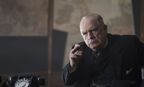 L'acteur Brian Cox interprète Winston Churchill (©SquareOne/Universum/UGC Distribution).