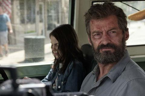 Pour Logan/Wolverine (Hugh Jackman), la relève est assurée avec une nouvelle petite mutante (Dafne Keen) (©20th Century Fox).