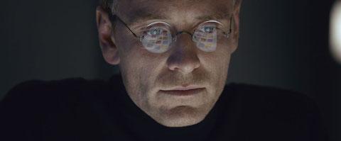 Michael Fassbender est impressionnant en Steve Jobs (©UPI).