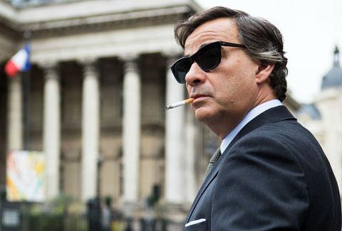 Eduard Fernandez est l'acteur principal du film, dans le rôle du manipulateur Francisco Paesa (©Julio Vergne/Ad Vitam Distribution).