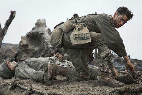 Après Spider-Man, Andrew Garfield interprète ici un vrai héros de la Seconde guerre mondiale (©Mark Rogers/Metropolitan FilmExport).