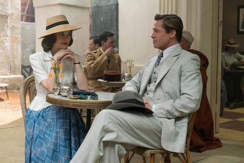 Marion Cotillard et Brad Pitt: séduction et mission secrète dans le Casablanca de 1942 (©Paramount Pictures).