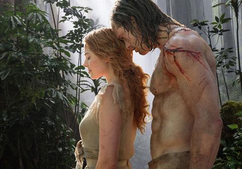 Elle Jane, lui Tarzan: s'ils font des petits, vous m'en gardez un... (©Warner Bros).