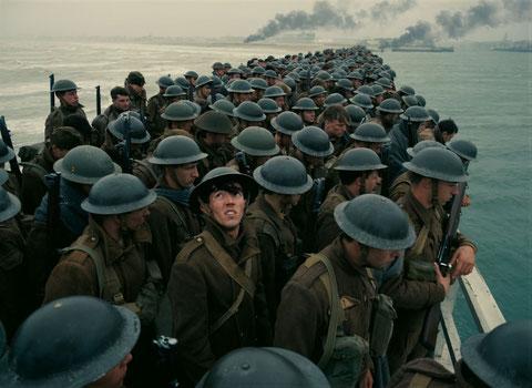 Près de 400.000 soldats étaient encerclés par les Allemands à Dunkerque en mai 1940 (©Warner Bros).