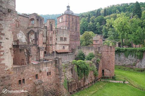 Heidelberger Schloss Graben