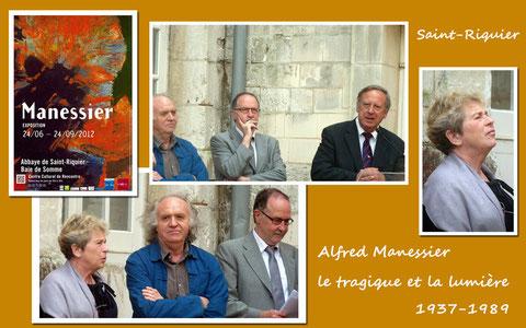 """Vernissage de l'exposition """"Alfred Manessier, le tragique et la lumière 1937-1989"""
