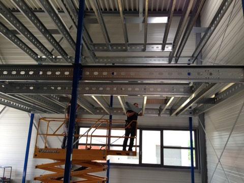 Stahlbaubühne Mehrgeschoss