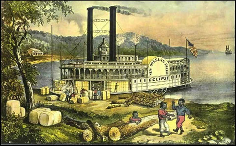 Le steamboat l'Eclipse (cliquer sur l'image)