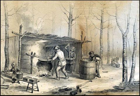 Cabane à sucre (cliquer sur l'image)