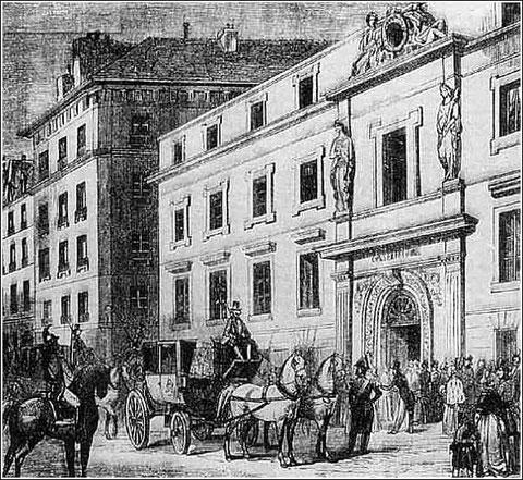 Le Conservatoire de musique de Paris au XIXe siècle (cliquer sur l'image)