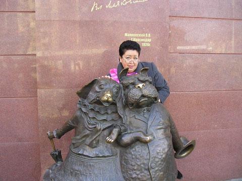 Людмила Сабитова, художник(скульптурный текстиль), кукольник. Краснодар, Россия