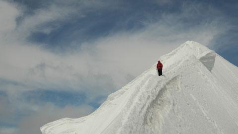 Gipfelgrat Normalroute Mönch