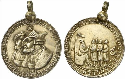 Pokale & Preise oder bronzefarben Medaille 100 Jahre Berliner Sportverein 1892 e.V. gold
