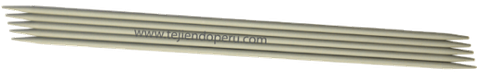 Cómo tejer en dos agujas o palitos: agujas de dos puntas