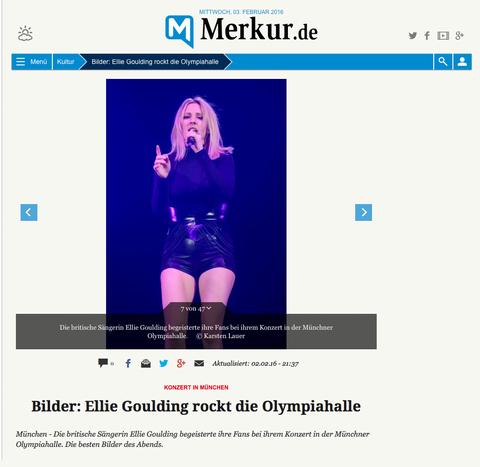 Merkur Online vom 03.02.2016