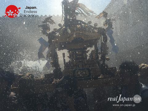 2016年, 八重垣神社祇園祭, 写真, 東本町区, 電子書籍写真集,水掛け