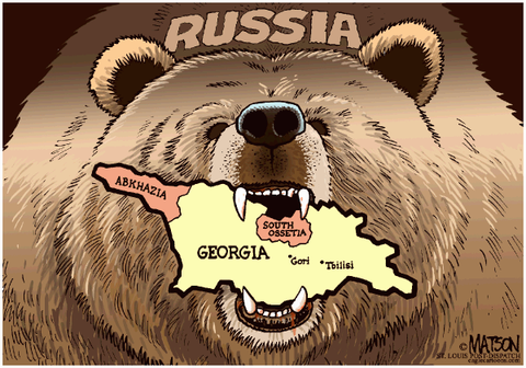 Allégorie Russie URSS ours