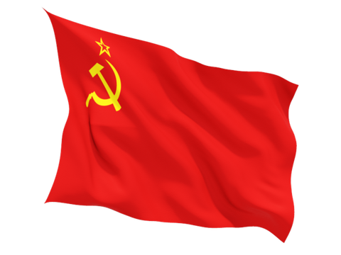 Drapeau URSS Faucille marteau