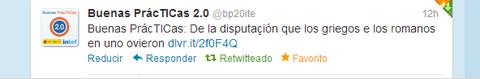 Twitter Red Buenas PrácTICas
