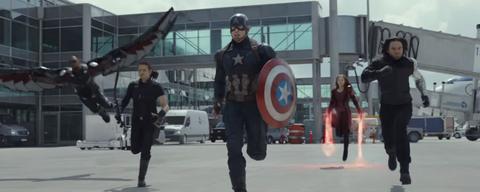 Captain America a rassemblé son équipe, Iron Man la sienne. Le combat des super-héros peut commencer (©The Walt Disney Company).