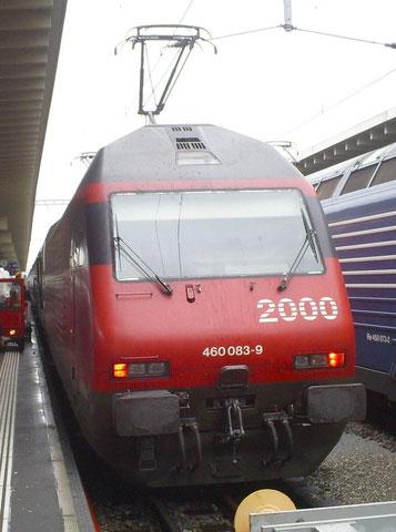 Zürich HB am 15. August 2008 mit IR 2368