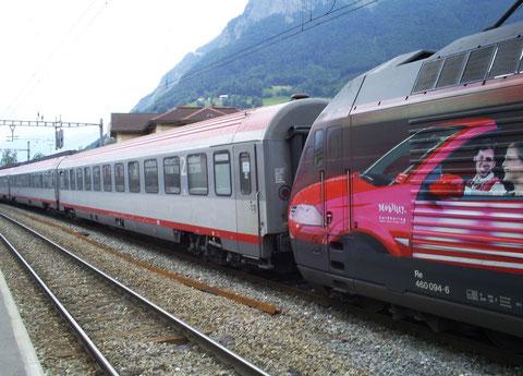"EC 161 ""Vorarlberg"" in Sargans am 14. Juni 2008"