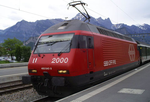 IR 784 in Sargans am 25. Mai 2008