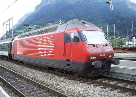 IR 775 in Sargans am 05. Juni 2008