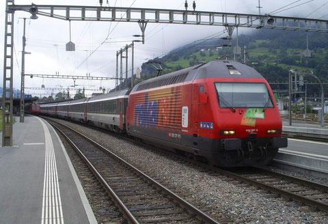 IR 765 in Sargans am 05. Juni 2008