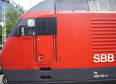 Sargans am 27. Juli 2008 mit dem IR 772