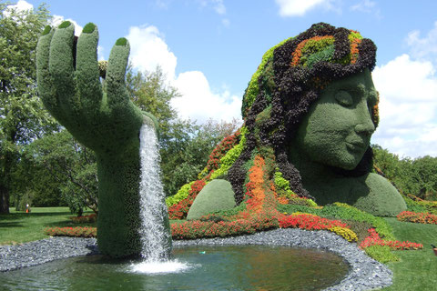Mother Earth/Mosaicultures Internationales 2013