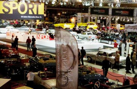 "60 Jahre SL...VETCAR Automobile wünscht ""Onkel Benz"" alles Gute!"