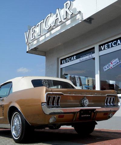 `67er Mustang V8 Cabrio, neues elektrisches Verdeck u. Heckscheibe