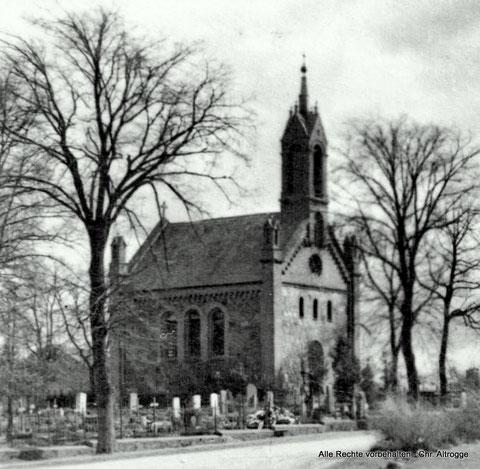 Kirche Tutow vor 1952 - Kirche wurde 1992 abgerissen  - church in Tutow  (demolished in 1992)