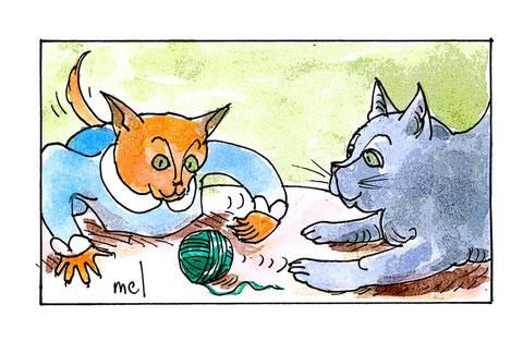 La pelote - Mel et l'Ouximer