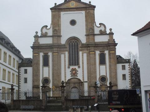 Kath. Marktpfarrkirche (ehemalige Jesuitenkirche)