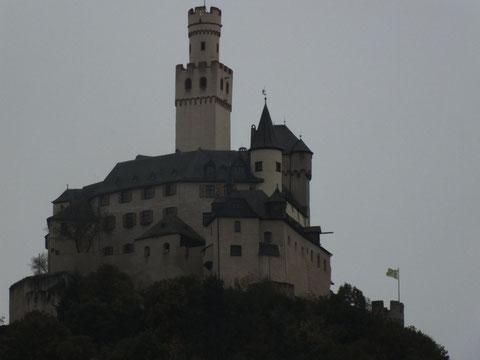 Marksburg in Barubach (Lahn)