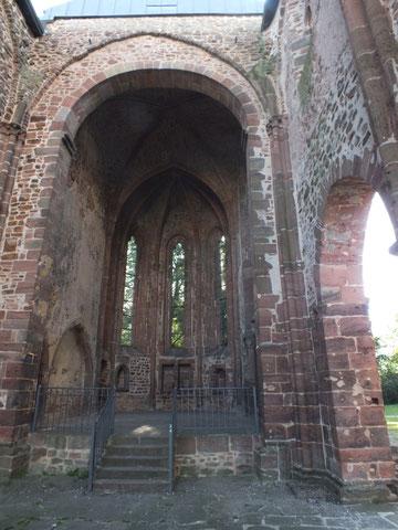 Schwalmstadt, Kirchenruine