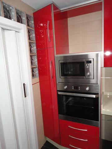 Cocina Torredelcampo Roja