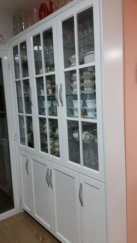 Cocina blanca rustica vintage