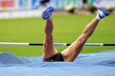 Marie Colonvillé heptathlète émérite avalée par un improbable tapis glouton Décastar 2008