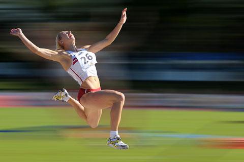 Karolina Tymińska s'envole à l'épreuve de la longueur lors de ce décastar 2008