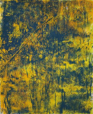 o.T., 2011, Druck, Linolfarbe auf Papier