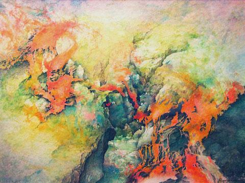 Flor eruptiva II
